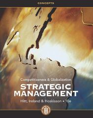 Strategic Management 10th edition 9781133495239 1133495230