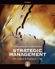 Strategic Management Cases 10th edition 9781133495246 1133495249