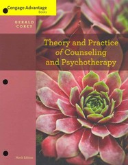 Cengage Advantage Books: Theory and Practice of Counseling and Psychotherapy 9th edition 9781133309338 113330933X