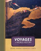 Voyages in World History, Complete, Brief 1st edition 9781111352332 111135233X