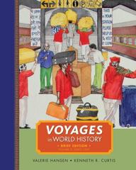 Voyages in World History, Volume II, Brief 1st edition 9781111352356 1111352356