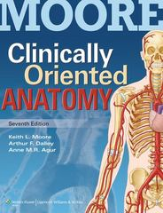 Clinically Oriented Anatomy 7th Edition 9781451119459 1451119453