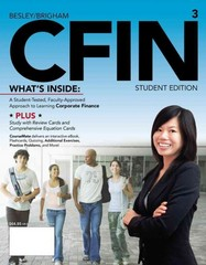 CFIN 3 (with Finance Coursemate with eBook Printed Access Card) 3rd edition 9781133626404 1133626408