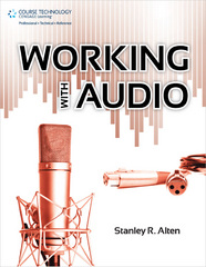 Working with Audio 1st Edition 9781435460553 1435460553