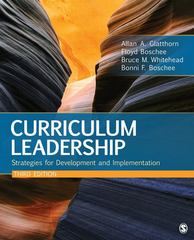 Curriculum Leadership 3rd Edition 9781412992190 1412992192