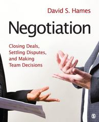 Negotiation 1st Edition 9781412973991 1412973996