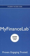 NEW MyFinanceLab with Pearson eText -- Access Card -- for Principles of Managerial Finance 13th edition 9780132914703 0132914700