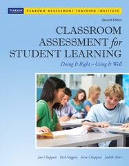 Classroom Assessment for Student Learning 2nd Edition 9780132685887 0132685884
