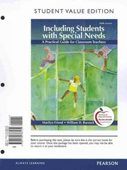 Including Students with Special Needs: A Practical Guide for Classroom Teachers, Student Value Edition 6th edition 9780132768139 0132768135