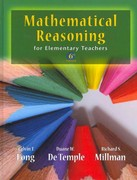 Mathematical Reasoning for Elementary School Teachers with Activities 6th edition 9780321786395 0321786394