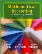 MML Student Access Kit for Ad Hoc Valuepacks & Mathematical Reasoning for Elementary School Teachers with MyMathLab/MyStatLab and Activities 7th Edition 9780321786487 0321786483