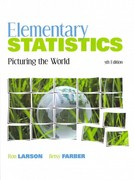 Elementary Statistics: Picturing the World with Student Solutions Manual 5th edition 9780321788795 0321788796