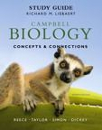 Campbell Biology: Concepts & Connections and Study Guide 7th edition 9780321799180 0321799186