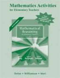 Mathematical Reasoning for Elementary School Teachers with Activities, IMAP CD and MathXL 6th edition 9780321810465 0321810465