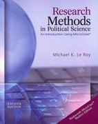Research Methods in Political Science (Book Only) 8th edition 9781133309291 1133309291