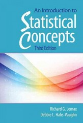 An Introduction to Statistical Concepts 3rd Edition 9780415880053 041588005X