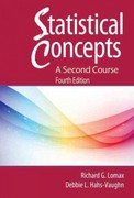 Statistical Concepts 4th Edition 9780415880077 0415880076