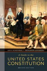 A Guide to the United States Constitution 2nd Edition 9780393912883 0393912884