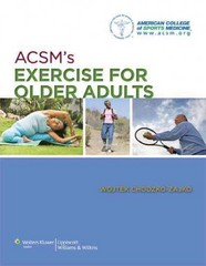 ACSM's Exercise for Older Adults 1st Edition 9781609136475 1609136470
