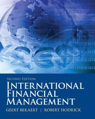 International Financial Management 2nd edition 9780132162760 0132162768
