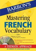 Mastering French Vocabulary 1st Edition 9781438071534 1438071531