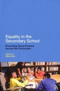 Equality in the Secondary School 1st edition 9781441194183 1441194185