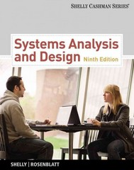Systems Analysis and Design (with Systems Analysis and Design CourseMate with eBook Printed Access Card) (Shelly Cashman) 9th Edition 9781133274056 1133274056