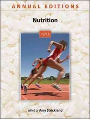 Annual Editions: Nutrition 12/13 24th Edition 9780073515601 0073515604