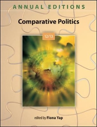 Annual Editions: Comparative Politics 12/13 30th edition 9780078051166 0078051169