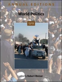 Annual Editions: World Politics 12/13 33rd edition 9780078051258 0078051258