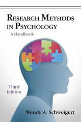 Research Methods in Psychology 3rd Edition 9781478618249 1478618248