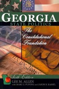 Georgia State Politics 6th Edition 9780757591143 0757591140