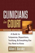 Clinicians in Court, Second Edition 2nd Edition 9781462503551 1462503551