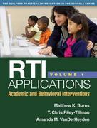 RTI Applications 1st Edition 9781462503544 1462503543