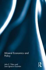 Mineral Economics and Policy 1st Edition 9781317558774 1317558774