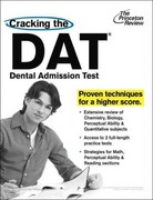 Cracking the DAT (Dental Admission Test) 1st Edition 9780375427565 0375427562