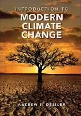 Introduction to Modern Climate Change 1st Edition 9781139153744 1139153749