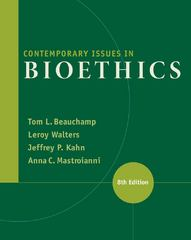 Contemporary Issues in Bioethics 8th edition 9781133315544 1133315542