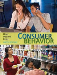 Consumer Behavior 6th Edition 9781133435211 1133435211