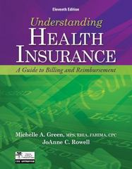 Understanding Health Insurance 11th Edition 9781133283737 113328373X