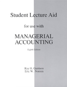 Managerial Accounting 8th edition 9780256238846 0256238847