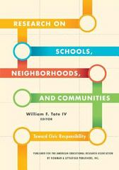 Research on Schools, Neighborhoods and Communities 0 9781442204690 1442204699