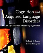 Cognition and Aquired Language Disorders 1st Edition 9780323087179 0323087175