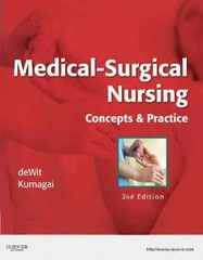 Medical-Surgical Nursing 2nd Edition 9781437717075 1437717071