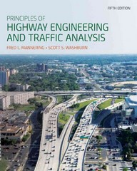 Principles of Highway Engineering and Traffic Analysis 5th Edition 9781118120149 1118120140