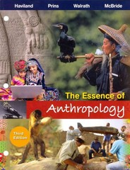 The Essence of Anthropology 3rd edition 9781111835088 111183508X