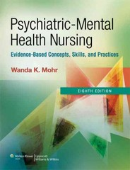 Psychiatric-Mental Health Nursing 8th Edition 9781609137083 1609137086