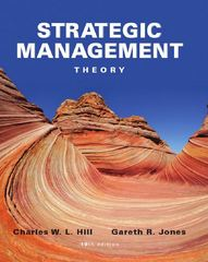 Strategic Management Theory 10th edition 9781133485704 1133485707