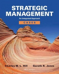 Strategic Management Cases 10th edition 9781133485711 1133485715