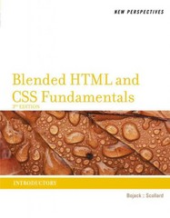 New Perspectives on Blended HTML and CSS Fundamentals 3rd Edition 9781133526100 1133526101